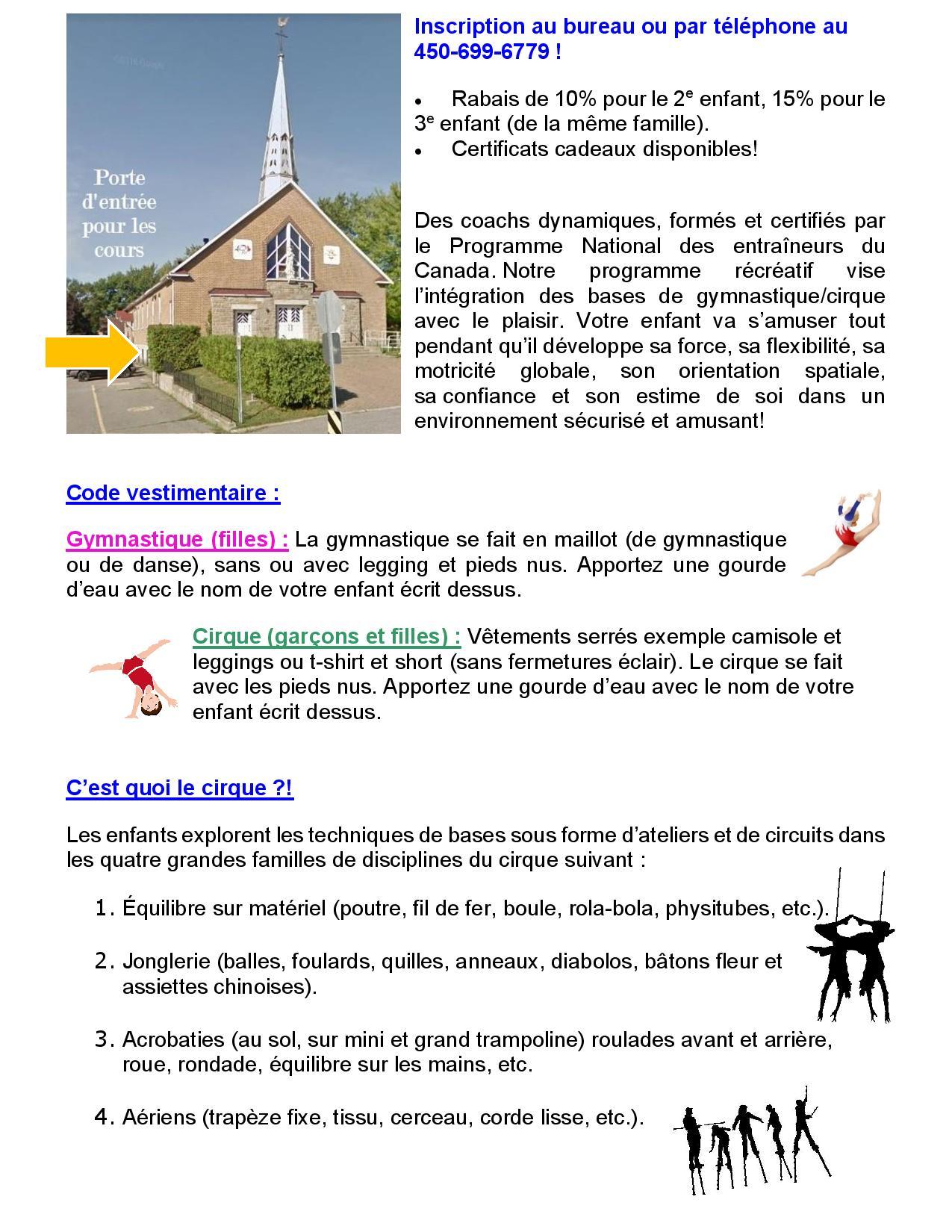 info session + porte 2020