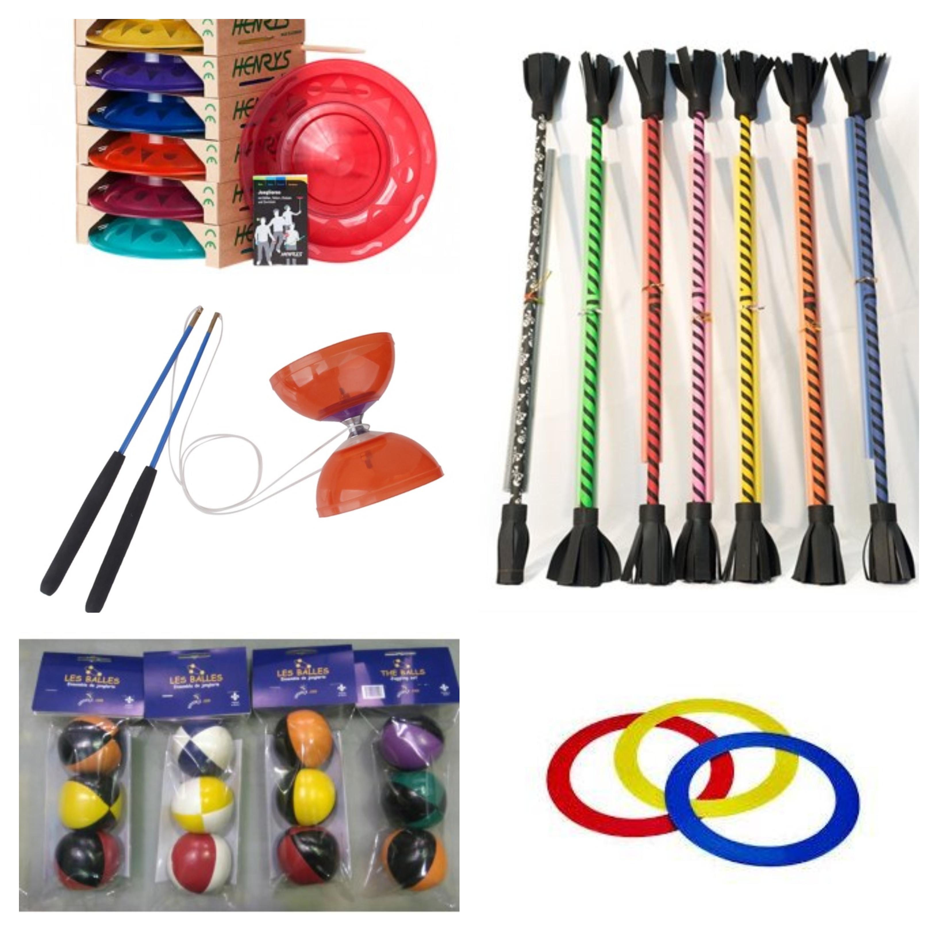 items de cirque